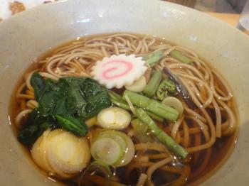 ゲレ飯山菜蕎麦.JPG