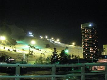 スキー場夜景・初日.JPG